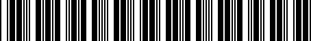 Barcode for 4260706020