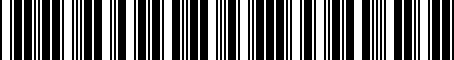 Barcode for PT9531M160